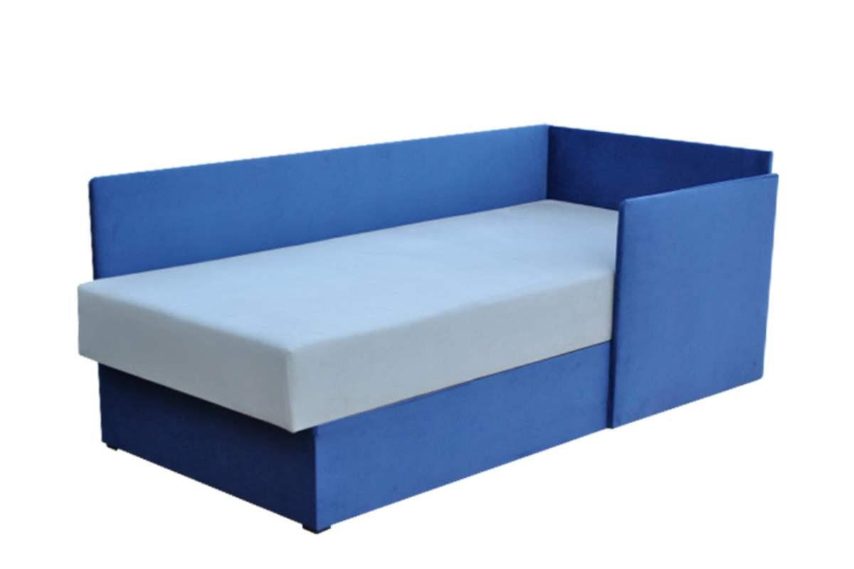 кровать диван бамбино синий