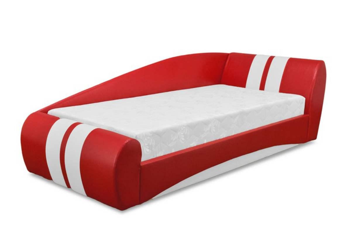 кровать диван драйв красный