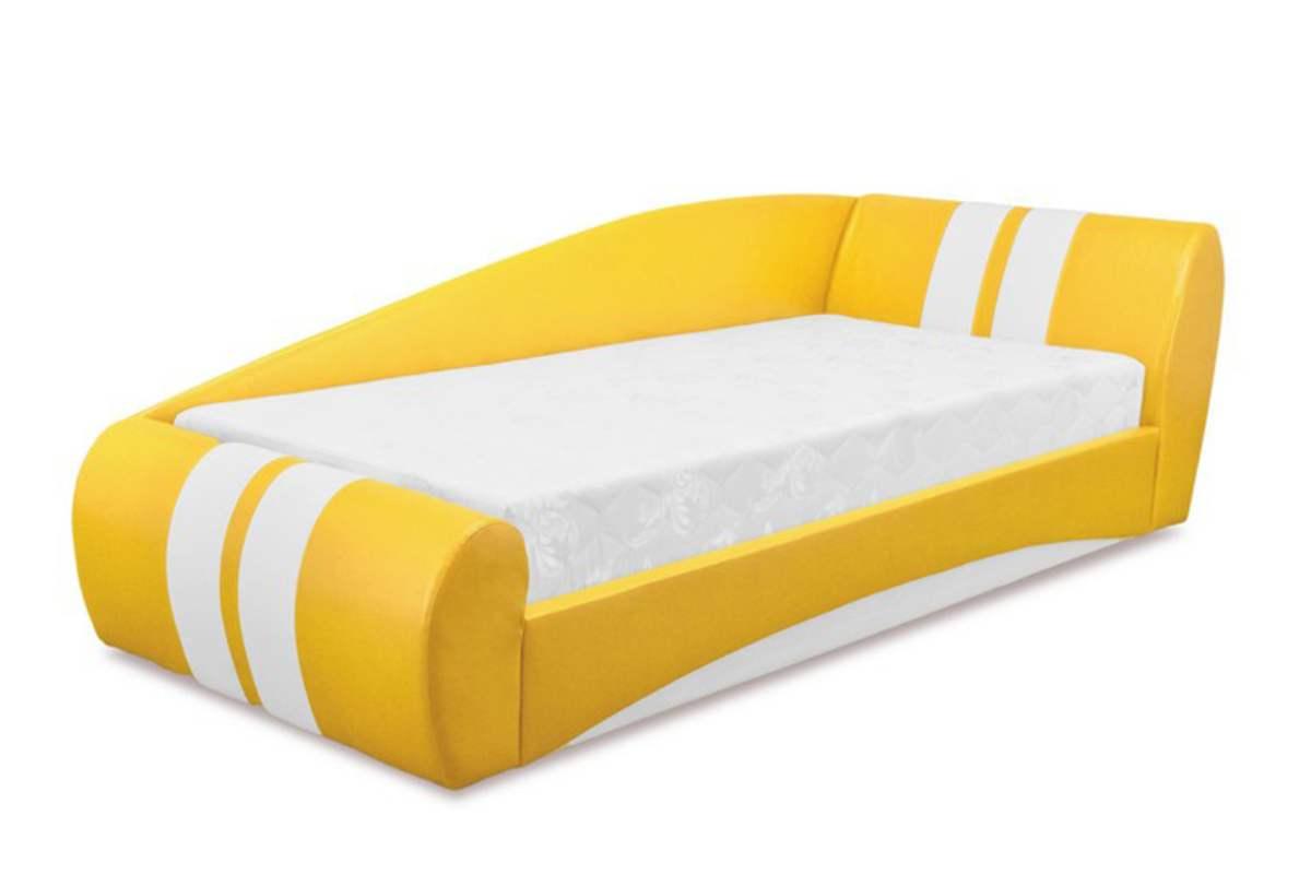 кровать диван драйв желтый