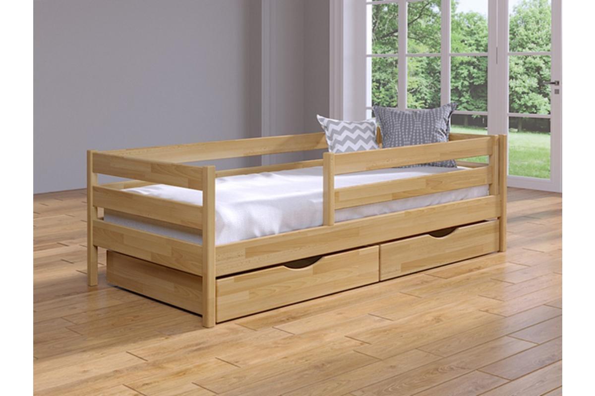 детская кровать из бука нота