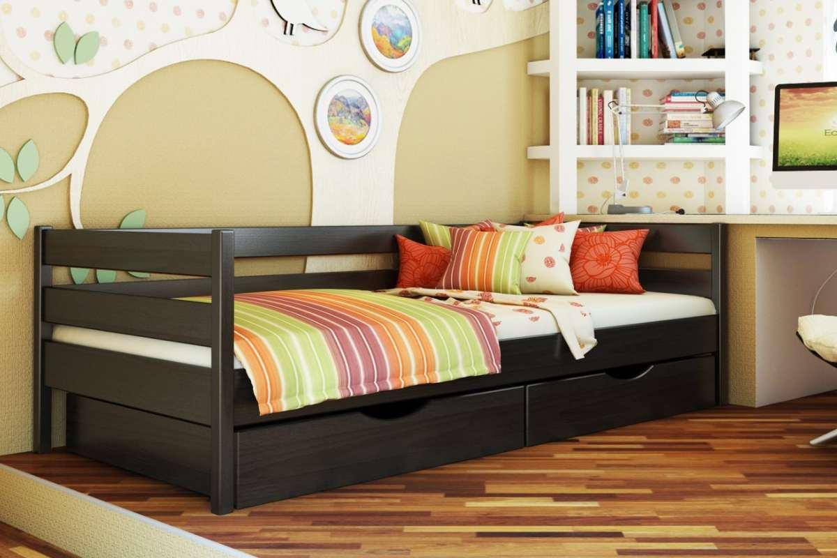 детская кровать из бука нота цвет 106