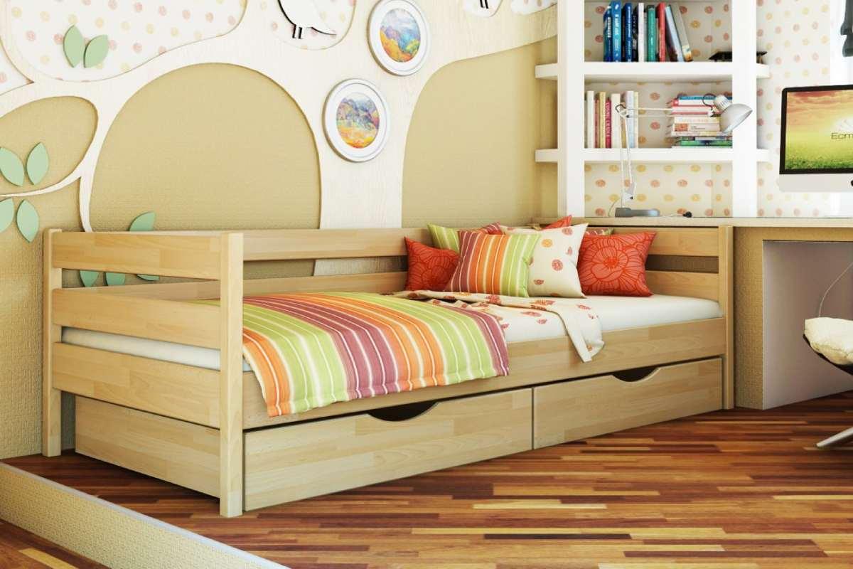 детская кровать из бука нота цвет 102