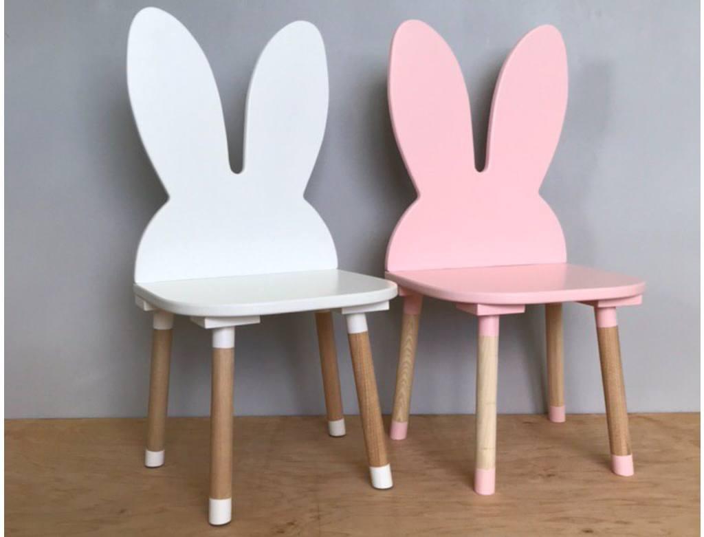 стульчик детский зайчики