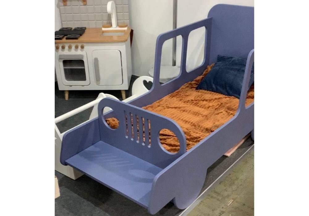 кровать машинка из мдф