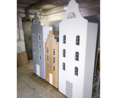 шафа будиночок з вікнами види