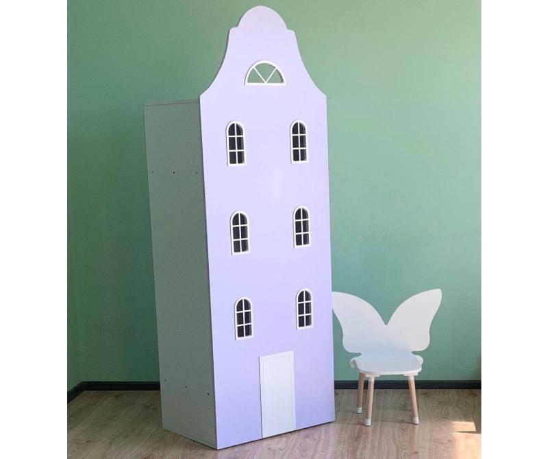 шккаф домик с окнами