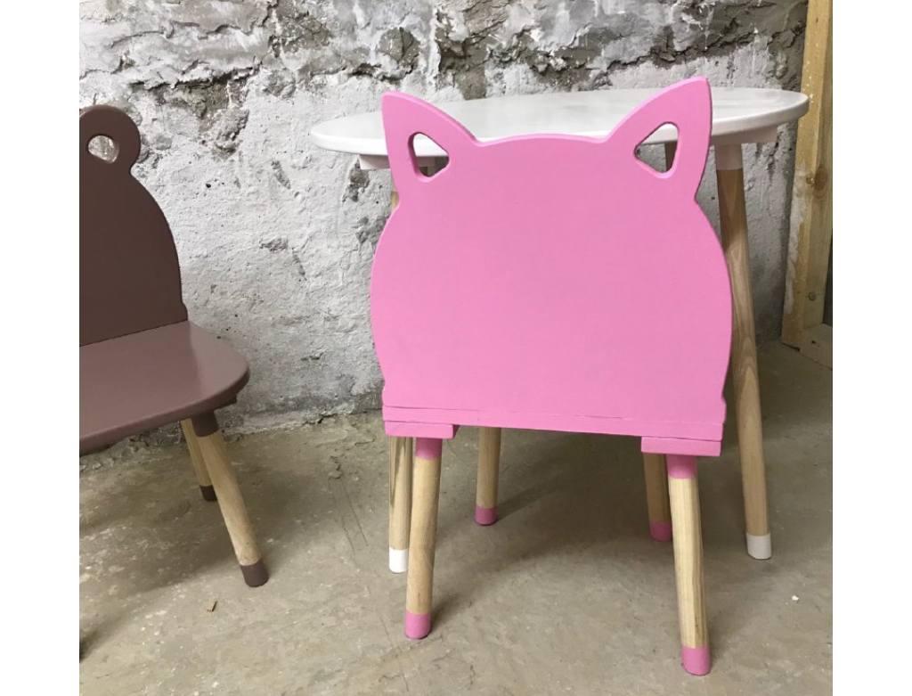 стульчик детский котик