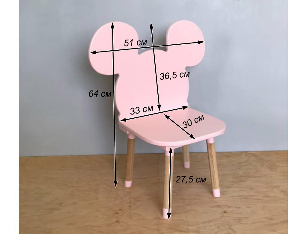 стульчик детский микки маус схема