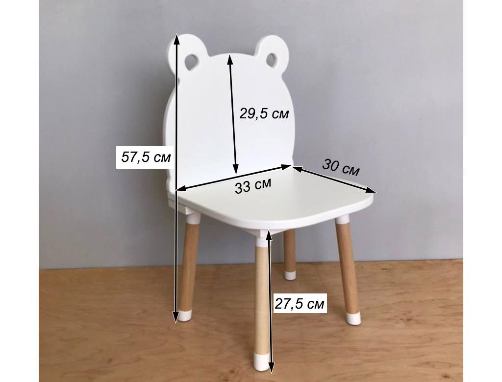 стульчик мишка детский схема