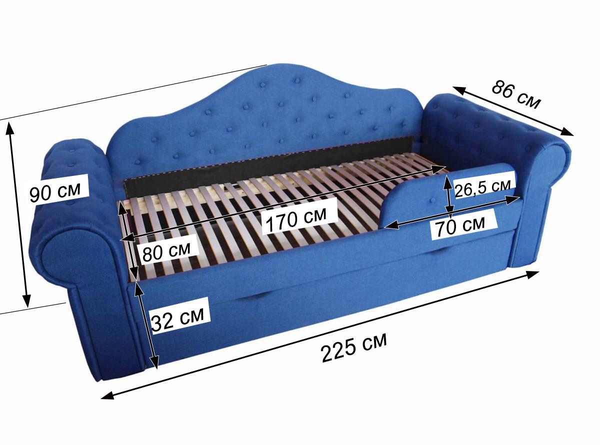 детская кровать мелани схема