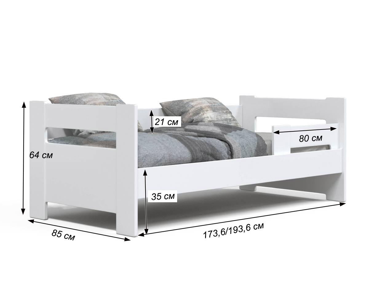 детская кровать зефир схема