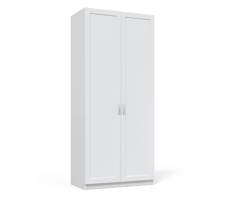 детский шкаф зефир белый