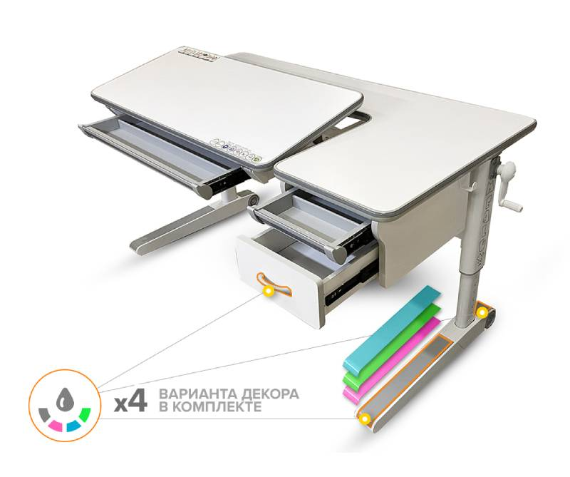 Mealux Sherwood XL Multicolor BD-860 W-MC с ящиком