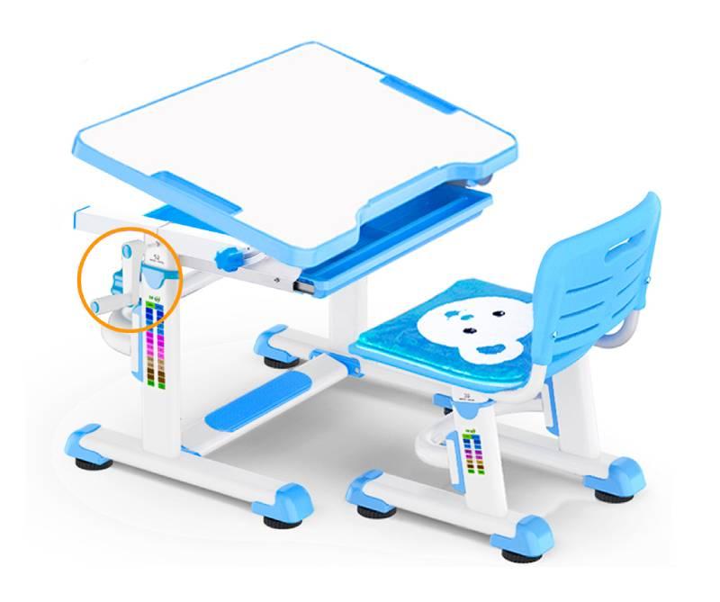 комплект парта и стул BD-08-blue