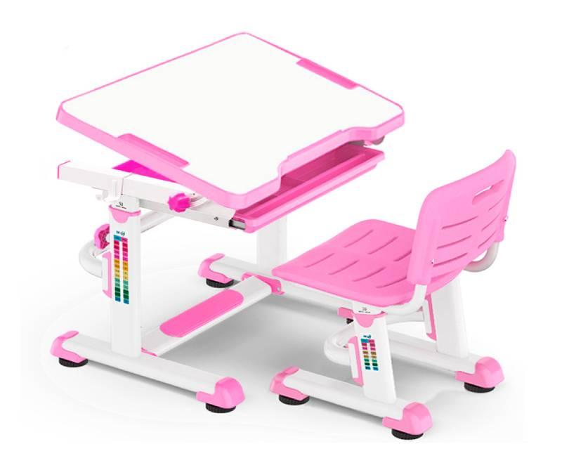 комплект парта и стул BD-08--Pink