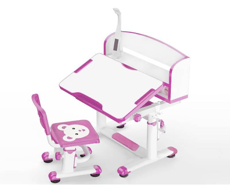 парта и стул с лампой BD-10 PN