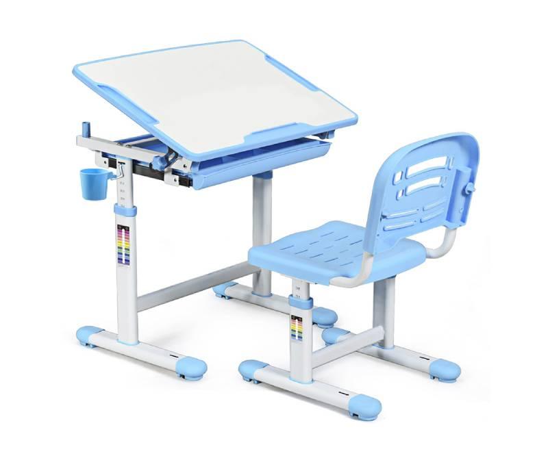 комплект парта стул Evo-06 Blue