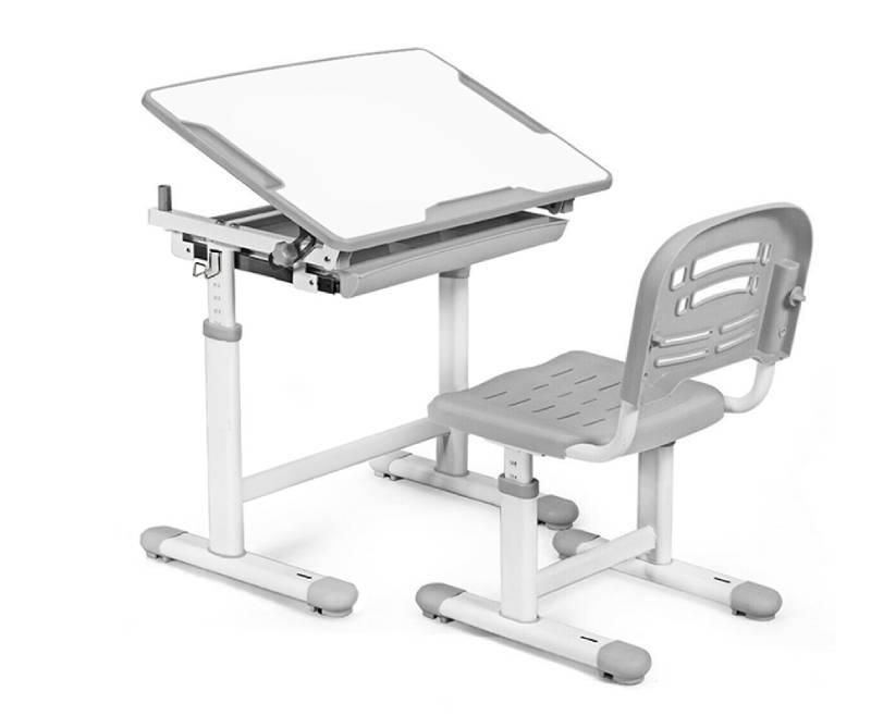 комплект парта стул Evo-06 Grey