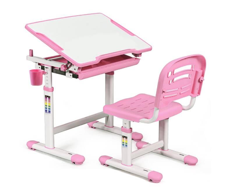 комплект парта стул Evo-06 Pink