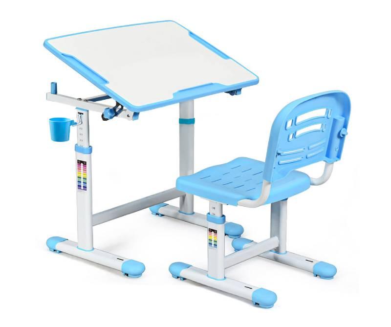 комплект парта стул Evo-07 Blue