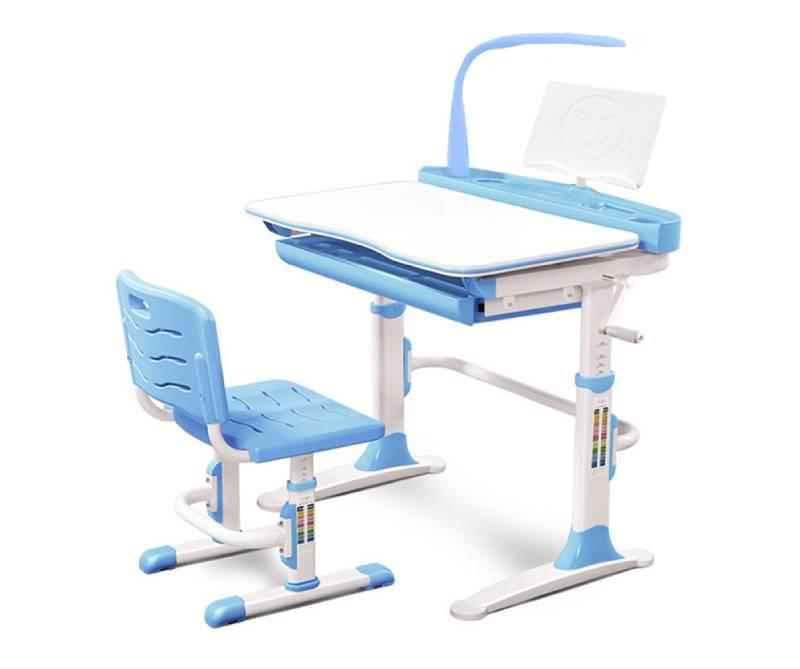 комплект парта и стул Evo-19-BL