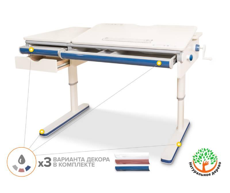 Mealux Montreal Multicolor W Lite BD-670 (белая столешница)