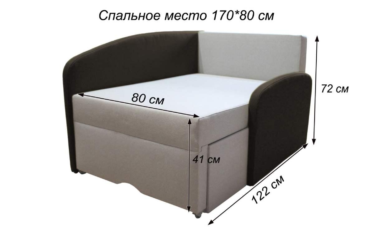 детский диванчик смайл схема