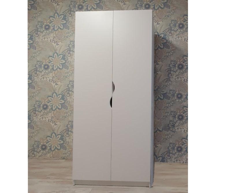 шкаф в детскую белый флай