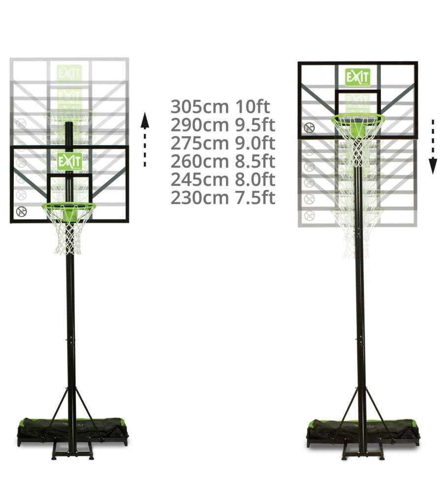 баскетбольный щит comet exit высота