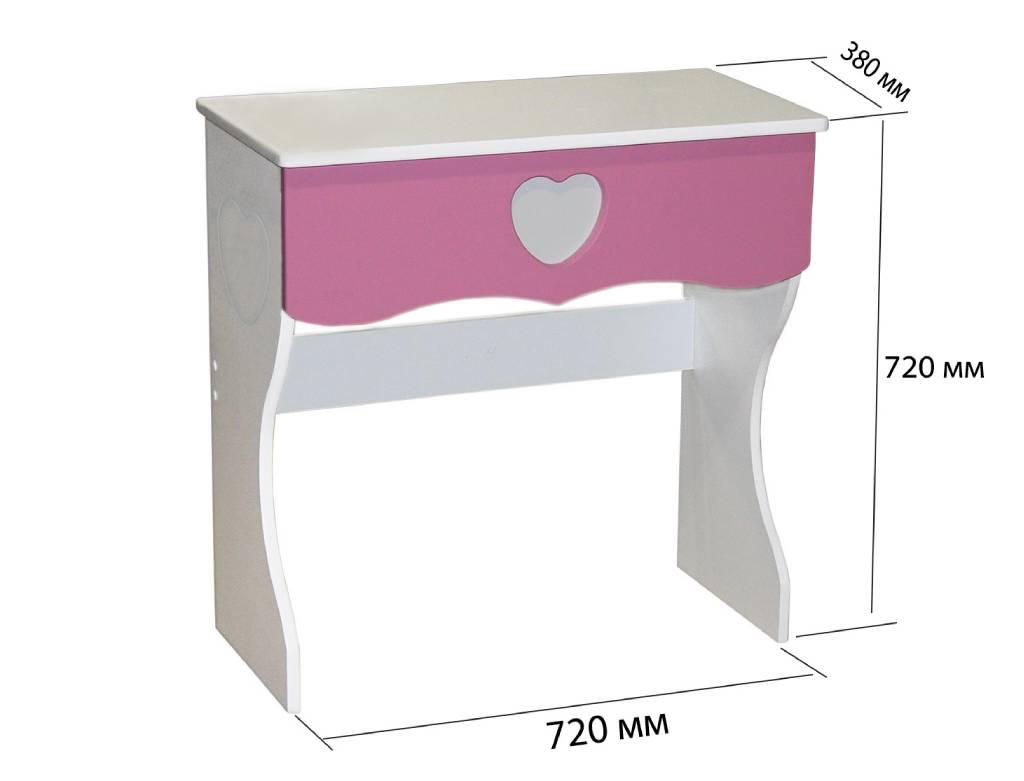 детский стол принцесса схема