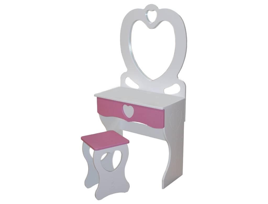 детский стульчик и столик принцесса