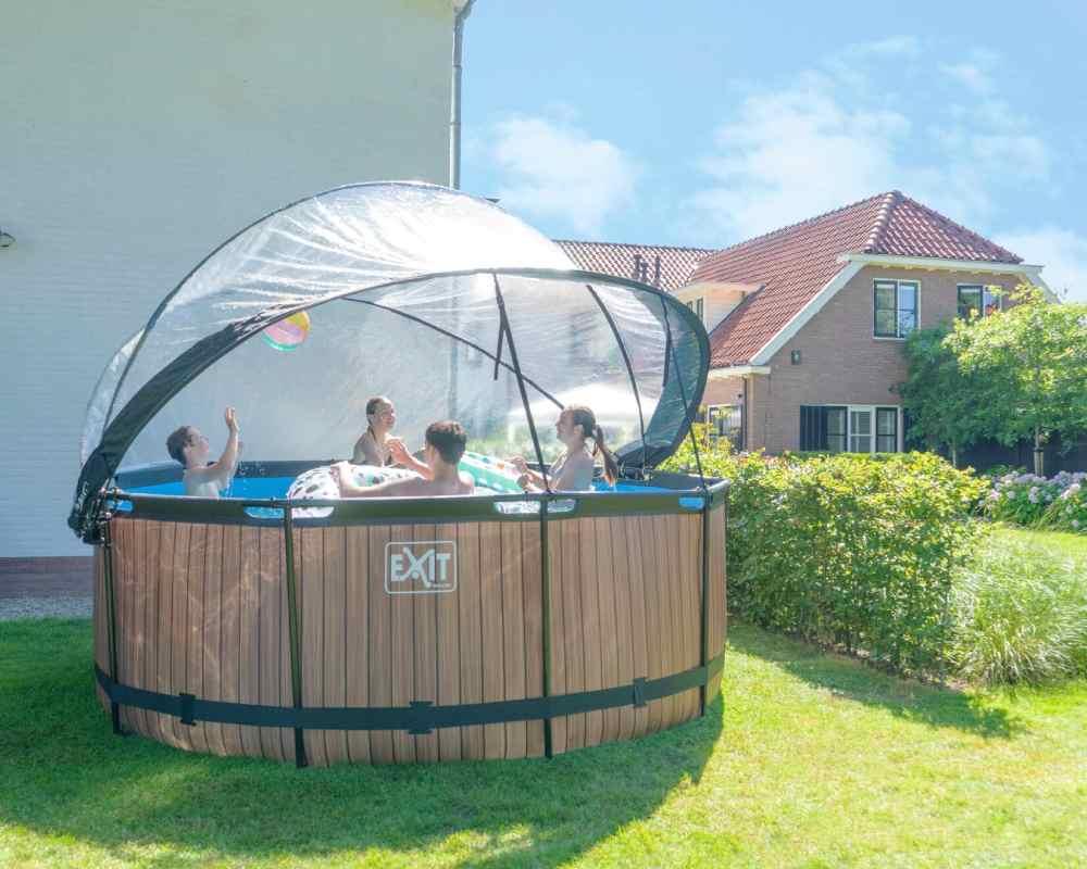 круглый бассейн 360х122 см фото