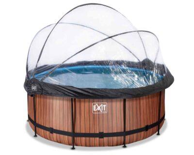 Круглый бассейн 360х122 см