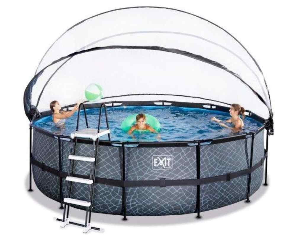 круглый бассейн 450х122 см с лестницей