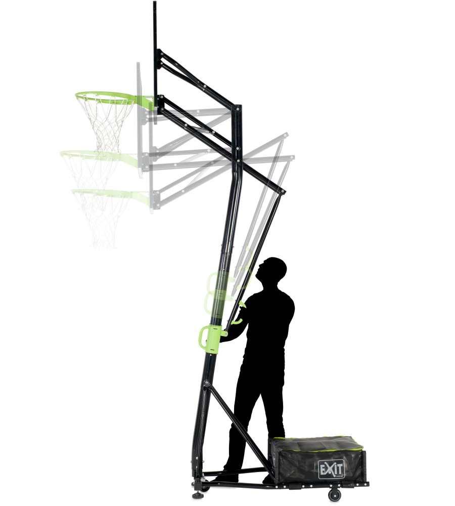 баскетбольная стойка Galaxy с разными положениями