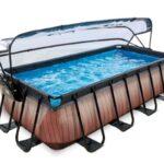 Прямоугольный бассейн 400х200х100 см
