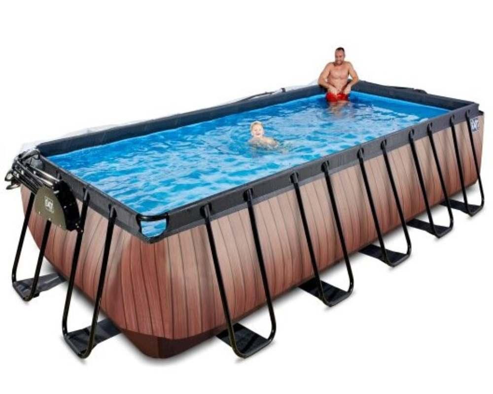 прямоугольный бассейн 540x250x122 см детский