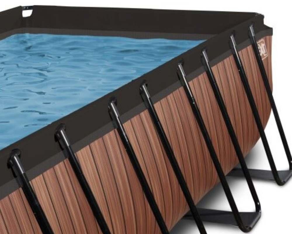 прямоугольный бассейн 540x250x122 см рама