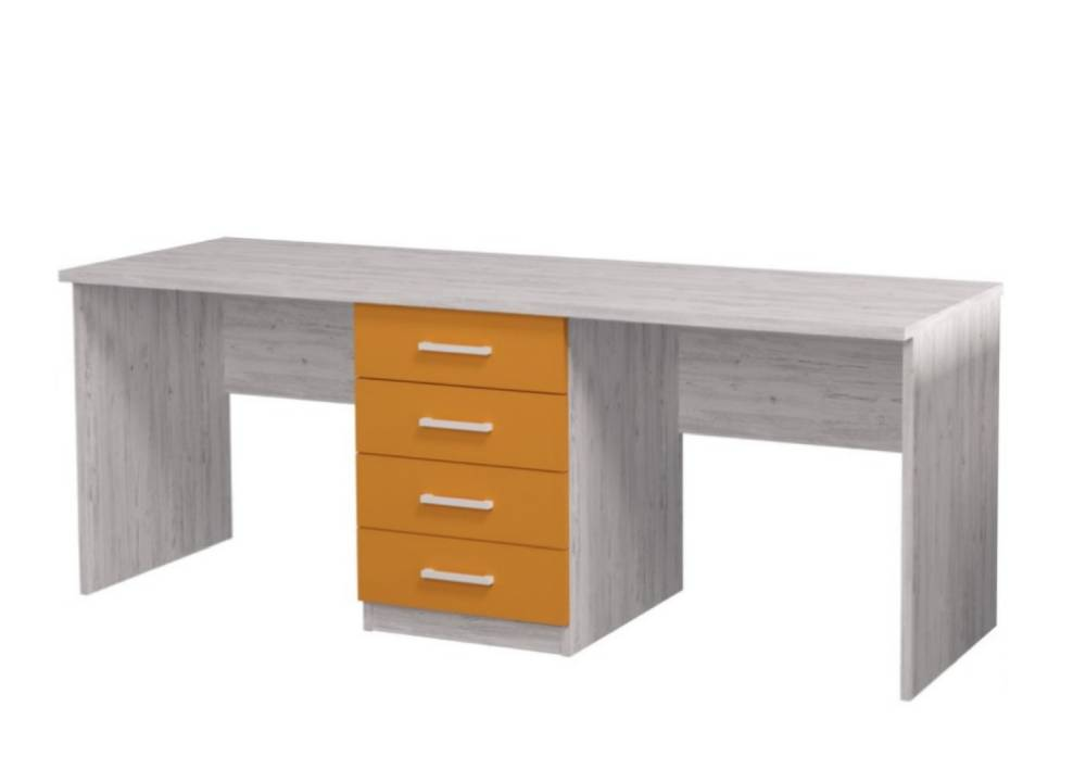 письменный стол для двоих детей аляска
