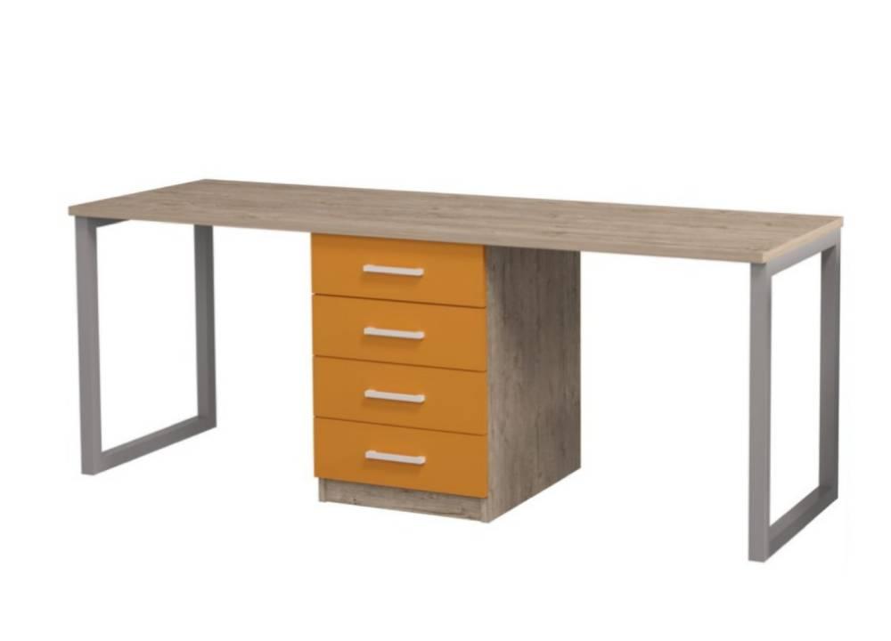 письменный стол шервуд для двоих детей