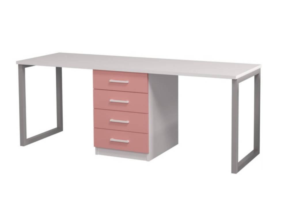 письменный стол фешн для двоих детей