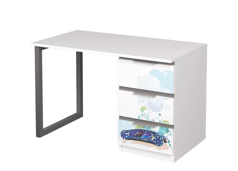 письменный стол авто бмв с металлическими ножками