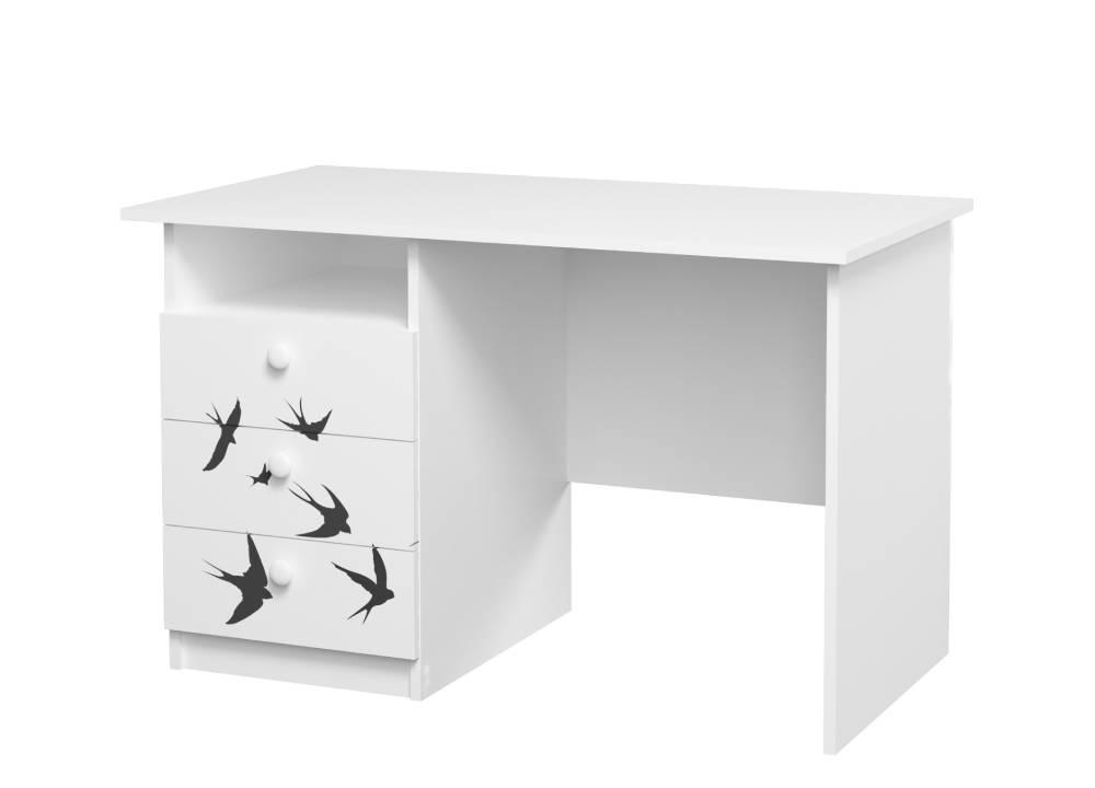 письменный стол на 3 ящика ласточки