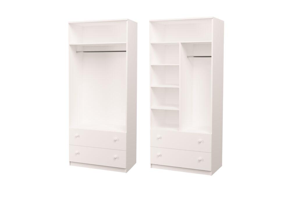 схема наполнения шкафов
