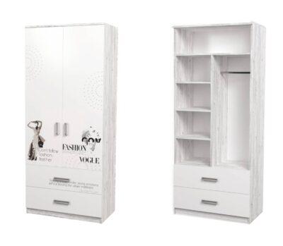 Vogue. Комбинированный шкаф