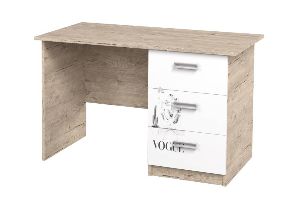 письменный стол с 3 ящиками vogue шервуд