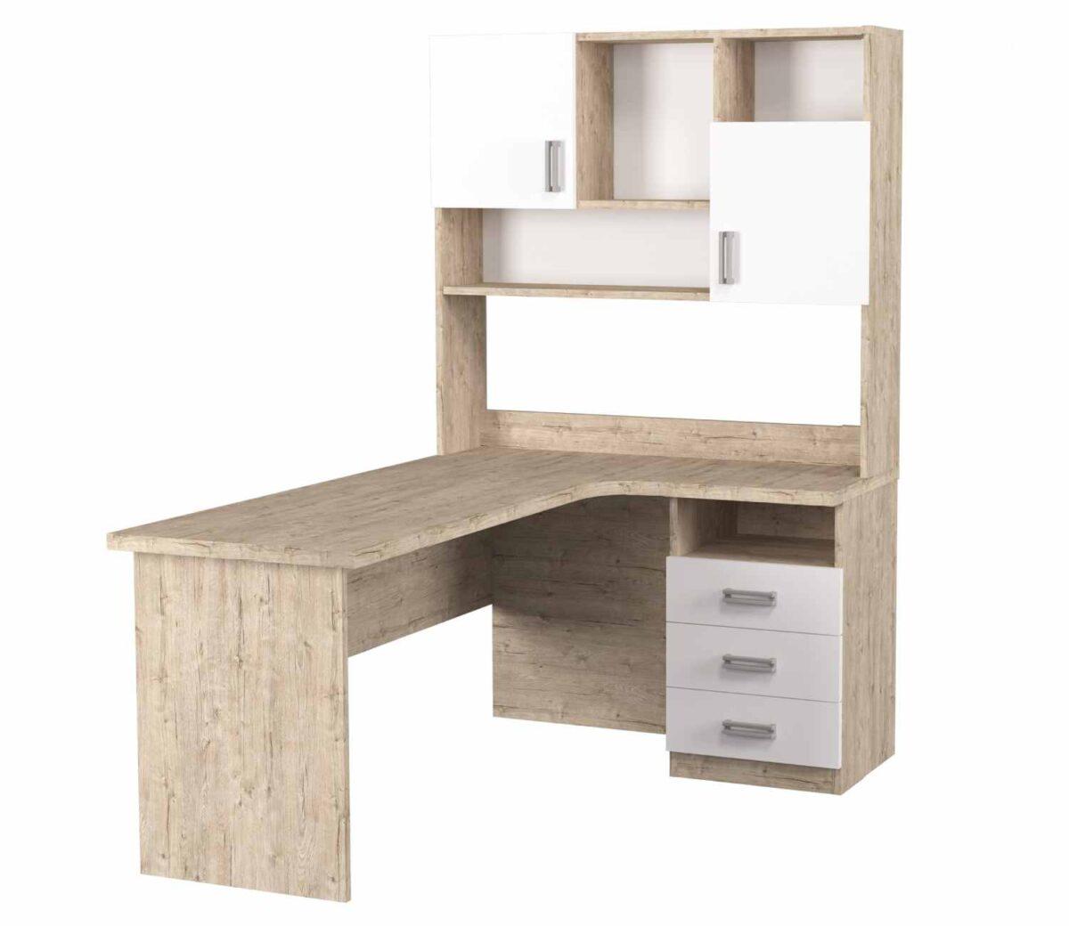 угловой стол с надстройкой тревел шервуд