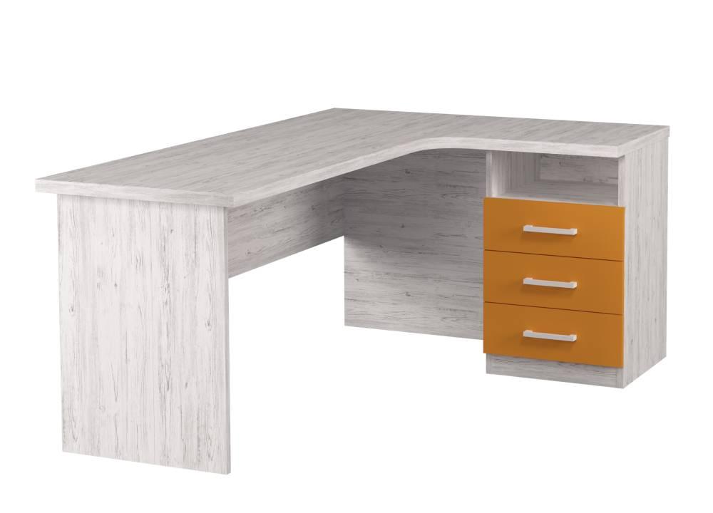 угловой письменный стол аляска
