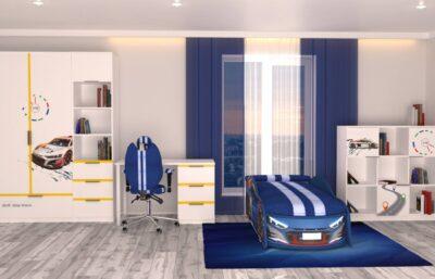Auto AUDI blue