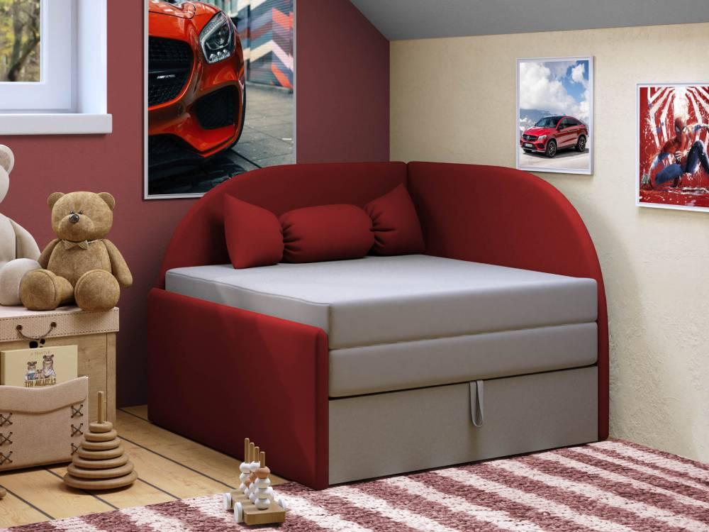 детский диванчик малютка красный